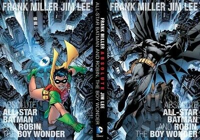 Absolute All-Star Batman and Robin, the Boy Wonder by Frank Miller Hardcover Boo