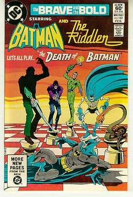 BRAVE and the BOLD #183 (DC Comics) NM! ~ BATMAN and the RIDDLER!