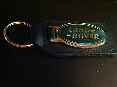 Land Rover Collectable Real Leather Defender Range Rover Brand New