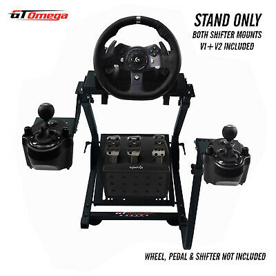 GT Omega Steering Wheel stand For Logitech G920 Racing & Driving force shifter