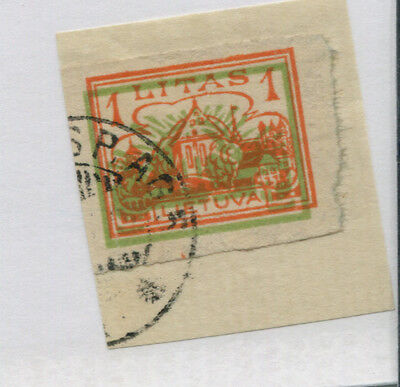 Lithuania   193  Imperf On Piece
