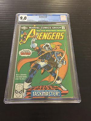 Avengers 196 Cgc 9.0 1St App Taskmaster White Pages