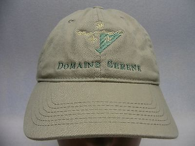 Domaine Serene - Embroidered - S/m Size Unifit Ball Cap Hat!
