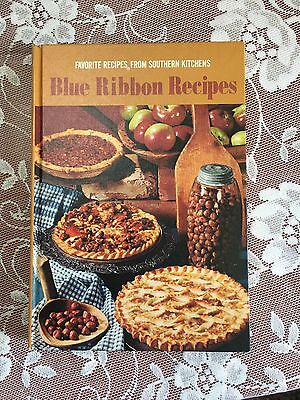 Vintage 1968 Favorite Blue Ribbon Recipes From Southern Kitchen's Cookbook