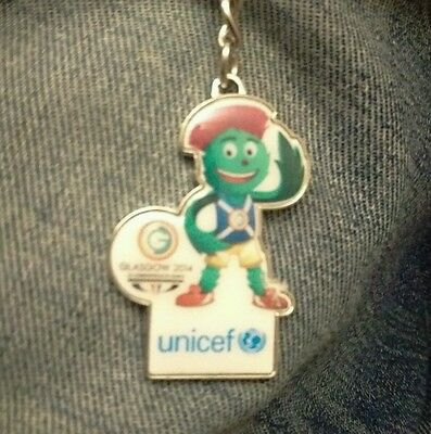 Glasgow 2014 Clyde and Unicef Keyring