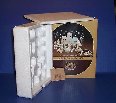 Precious Moments  E-2395 Mini Nativity  Empty Box