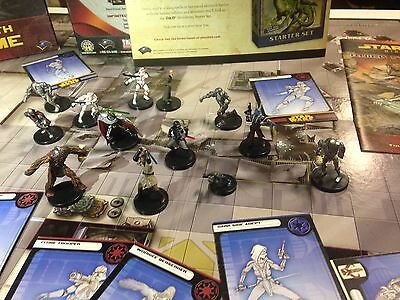 Star Wars Miniatures REVENGE OF THE SITH Starter Board Game with Extras