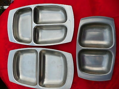3 Old Hall Serving Dishes Designed by Robert Welch