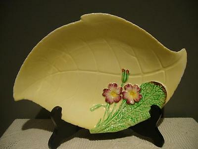 Lovely Vintage Carlton Ware Small Yellow Primula Serving Dish - Good Condition
