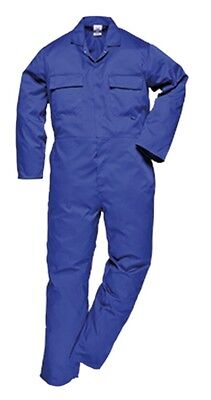 3 Pack - Portwest S999 Euro Work Boilersuit XL Royal