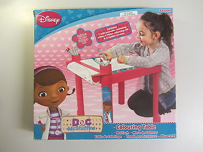 Doc McStuffins Colouring Table, Children's Art & Crafts Drawing Desk Gift