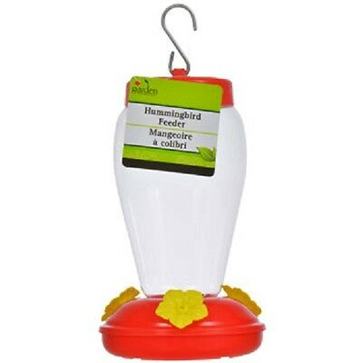 New Plastic Hanging Hummingbird Feeders, 6.75 in. Free Ship US Seller