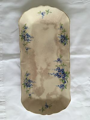 Japanese Floral Tray 1930s / 40s