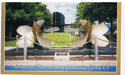 Submarine Force Library Museum Groton Connecticut Postcard