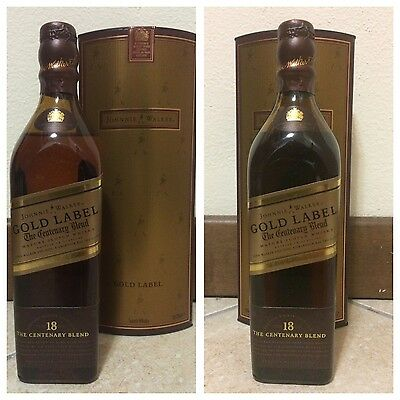Whisky Johnnie Walker Gold Label 18 Years Old 200ml