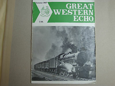 Great Western Echo No 21 Summer 1967 Journal of the Great Western Society
