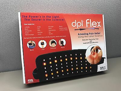 NEW! DPL II Flex Pad LED Light Therapy Pad Pain Relief System Wrap