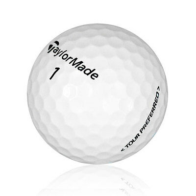 120 TaylorMade Tour Preferred Near Mint Recycled Used Golf Balls