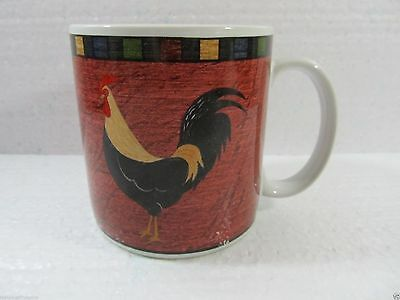 Country Quartet Brandon House Rooster Coffee Mug