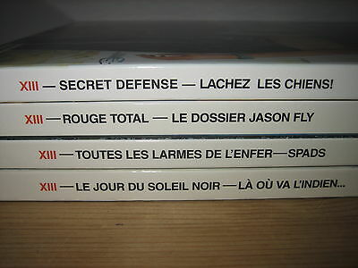Lot 4 Double Albums Xiii, Regroupent Les Tomes 1 2 3 4 5 6 14 & 15 - Fl Tbe
