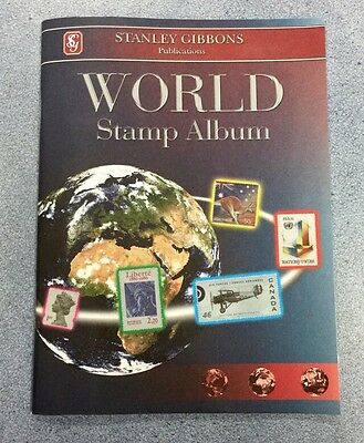 Stanley Gibbons World Stamp Album - Great Item - Free Postage!! ⭐️⭐️⭐️⭐️⭐️