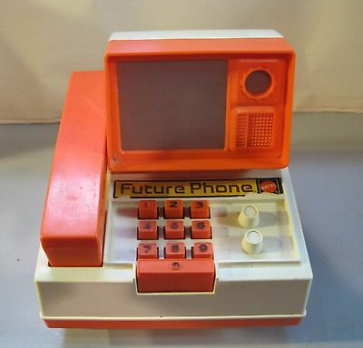 Vintage 1970's Mattel Future Phone Toy-Incomplete