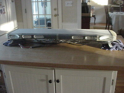 "Whelen LFL Liberty LED 49"" lightbar SS8BBBB with SC 12 LED Modules & MPC01"