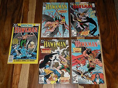 HAWKMAN 1 2 3 4 Plus SPECIAL #1 ~ DC ~ 1986 ~ MORE LOTS IN STORE!!!