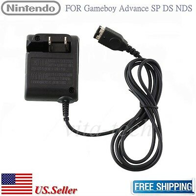 ... Wall Charger Ac Adapter For Nds Gameboy Advance Gba Sp Game Console Us Plug Intl Daftar