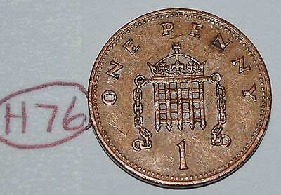 1990 Great Britain 1 Penny UK Coin KM# 935 Lot #H76