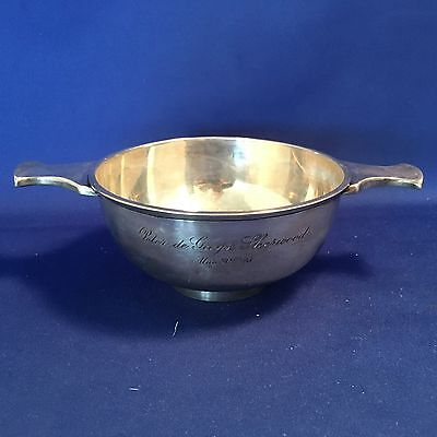 Sterling Silver Two Handled Bowl Ryrie Brothers Canadian 205 grams