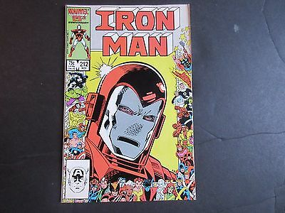 Iron Man #212 (Nov 1986, Marvel) Tons of Auctions!