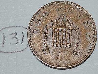 1984 Great Britain 1 Penny UK Coin KM# 927 Lot #131