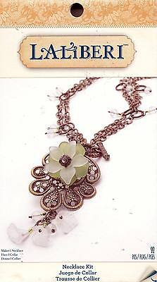 New Laliberi Flower Necklace Kit