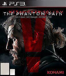 Metal Gear Solid V: The Phantom Pain (Sony PlayStation 3 PS3, 2015) BRAND NEW