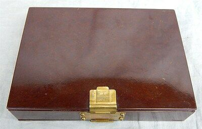 "French ""Hollywood"" Bakelite Makeup Case / Minaudiere"