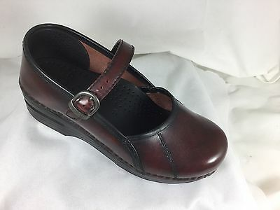 DANSKO Womens NEW NWOB Mary Jane Professional Clogs Shoes Sz 6 5.5 Brown Oiled