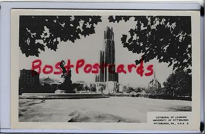 Rppc~Cathedral Of Learning,university Of Pittsburgh,pitt~Pittsburgh,pa
