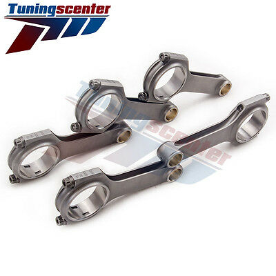 Bielas for Volvo S60 R 2.5L H beam Connnecting Rods Forged 4340 ARP 2000 H TCT