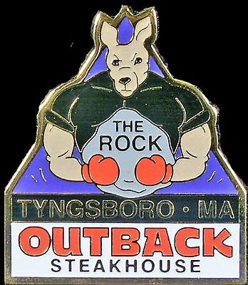 A4265 Outback Steakhouse Tyngsboro, MA hat lapel pin
