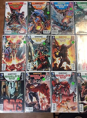 Lot of Earth 2: World's End New 52 Issues DC Comics Ongoing Series 18 TOTAL