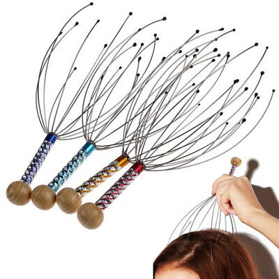 Fashion Head Neck Scalp Massager Massage Octopus Equipment Stress Release ToolHP