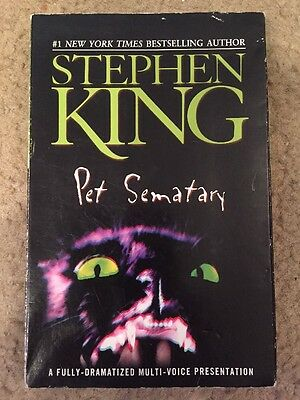 Pet Sematary Audiobook by Stephen King (2001, Cassette). Free Shipping.