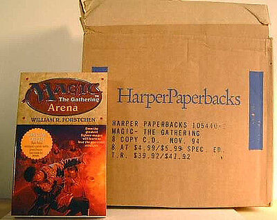 Magic The Gathering Arena Softcover Book1994 New 1st Print Harper Prism Amricons