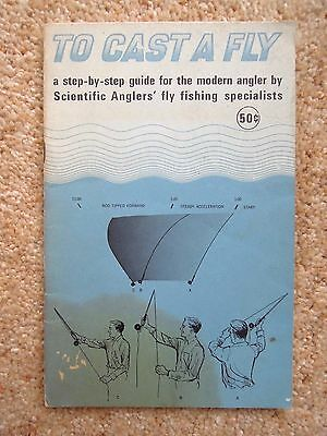 TO CAST A FLY Scientific Anglers' Inc.Fly Fishing  FIRST EDITION 1966  Free Post