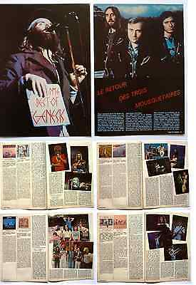 """best Of Genesis""  8 Pages Booklet (The Story From The 66 To 78) Cutting/ Pin Up"