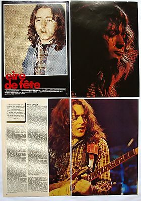 Rory Gallagher (Ex Taste) Clippings / Cutting / Mini Poster / Pin Up  # 1  Rare