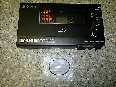 Sony WM-D6C Walkman Professional replacement drive belt with instructions