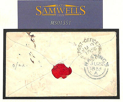 MS1351 1855 CRIMEAN WAR *Post Office British Army*CDS Soldiers Cover GB Hastings