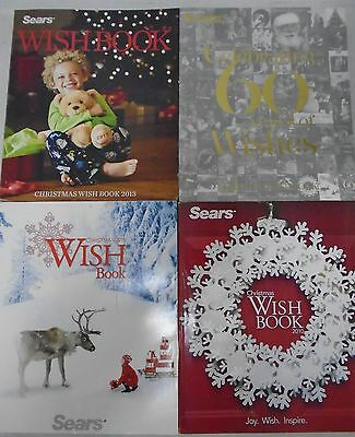 2013 2012 2011 & 2010 Sears Wish Book Christmas Store Catalogs Reference